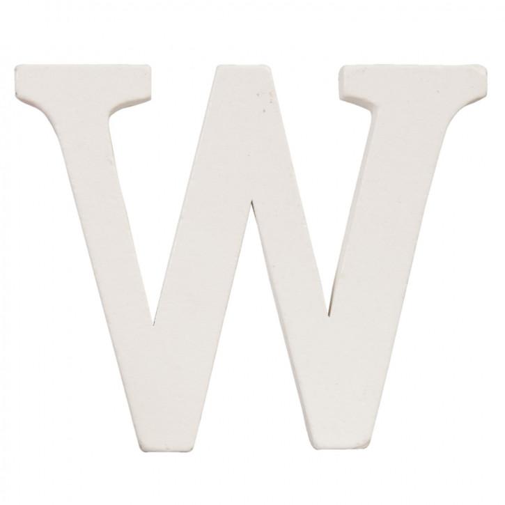 letter W 10x8 cm