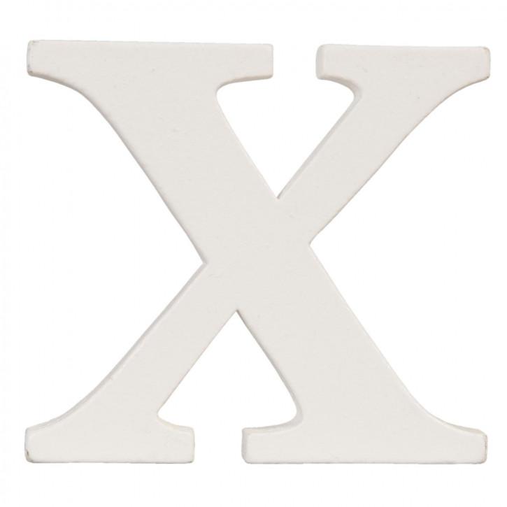 letter X 9x8 cm