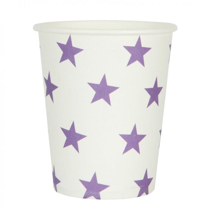 Paper cups (10 Stück) Ø 7x8 cm