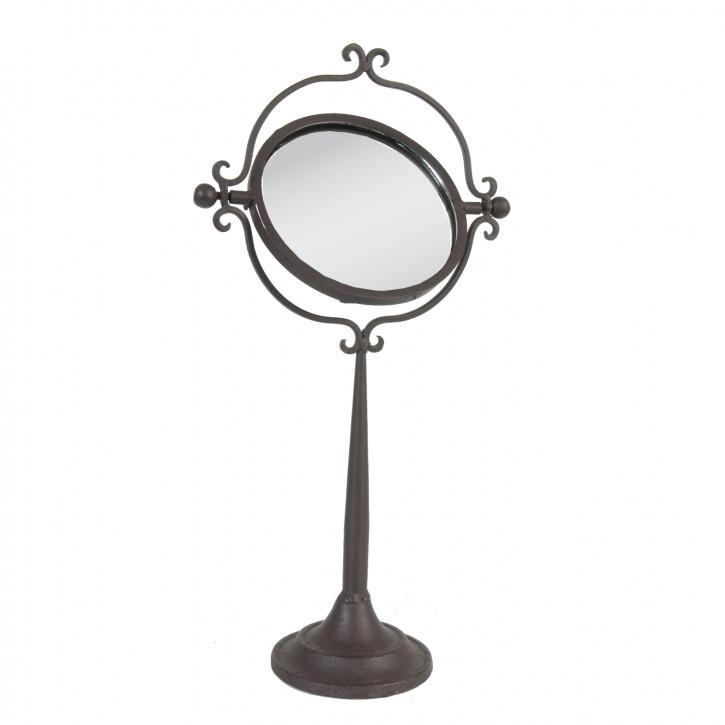 Spiegel schwenkbar schwarz 19*10*37cm