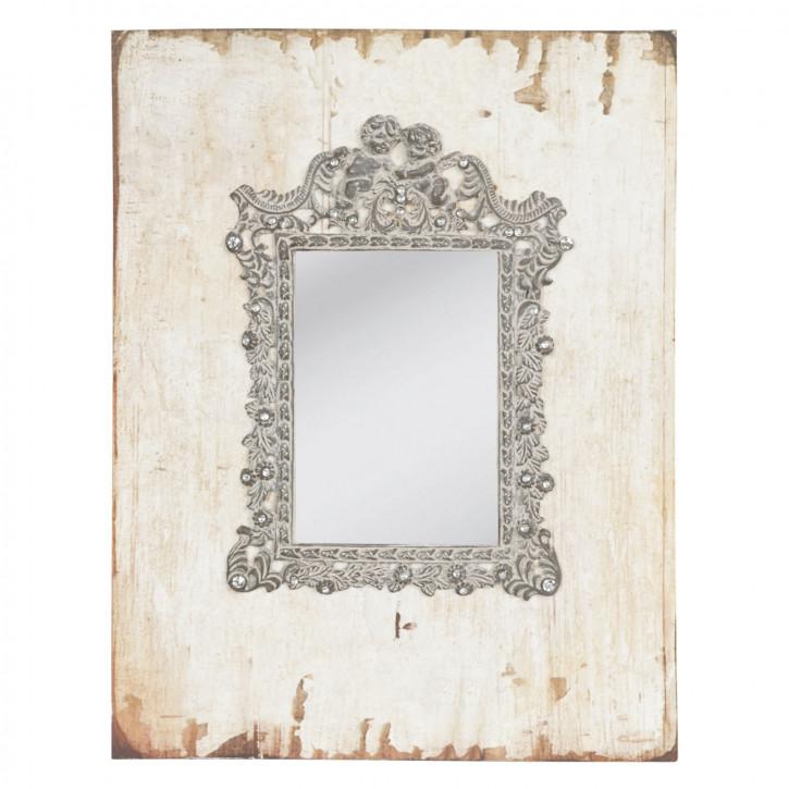Wandspiegel natürlich ca. 23 x 30 cm