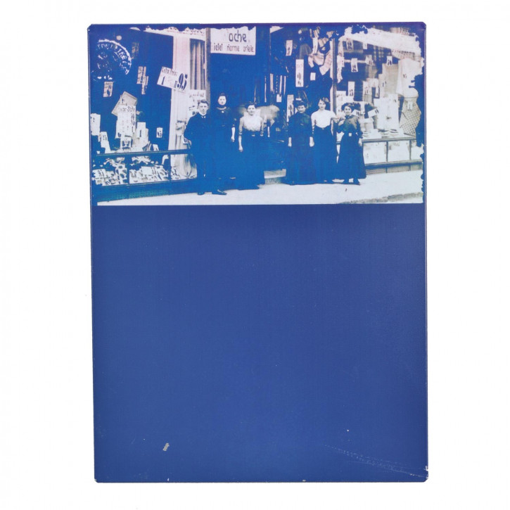 Kreidetafel ca. 26x20 cm Multifarben