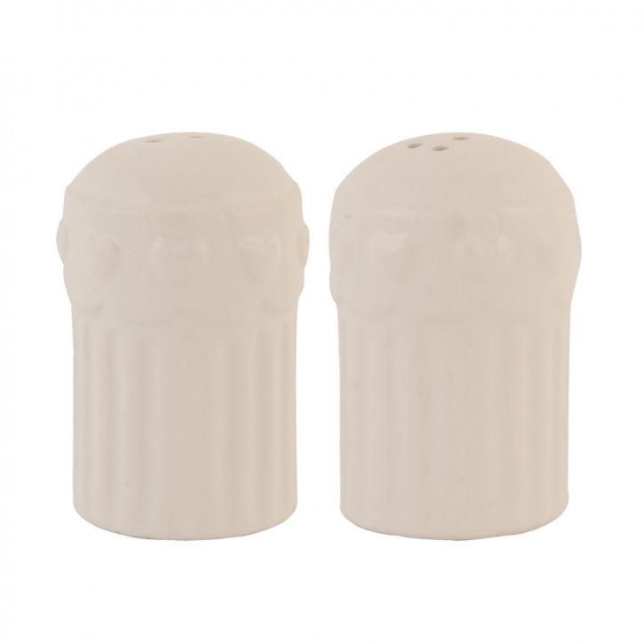 Pfeffer und Salz Ø 5x7 cm