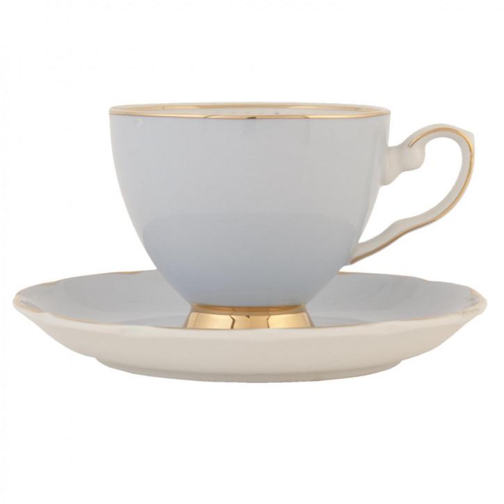 Tasse mit Untertasse 0.2L