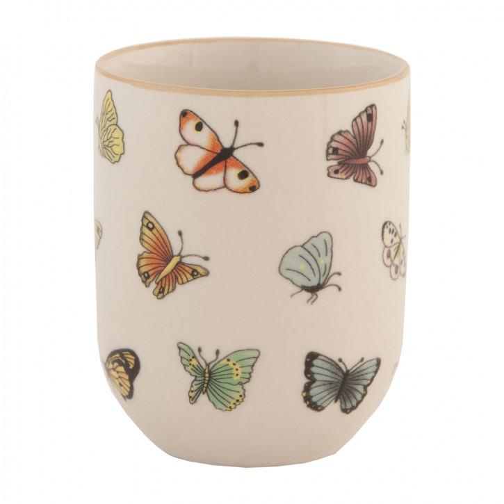 Kleine Tasse Cup ~ Schmetterling ~ Nostalgie Landhaus