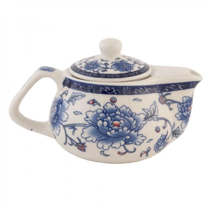 Teekanne orientalisch blau