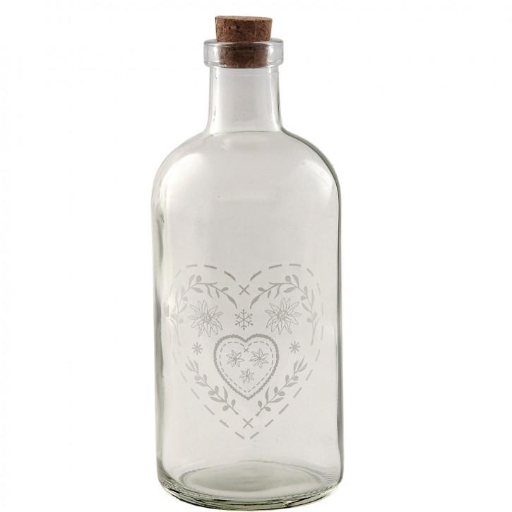 Flasche mit Korken 5.5*15cm