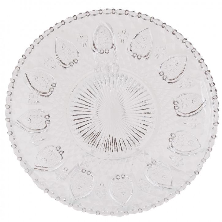 Glasteller Transparent ca. Ø 20 cm