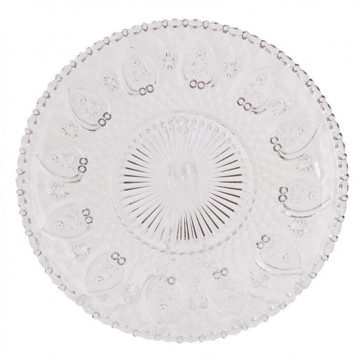 Teller Schale Glas ca. Ø 25 cm