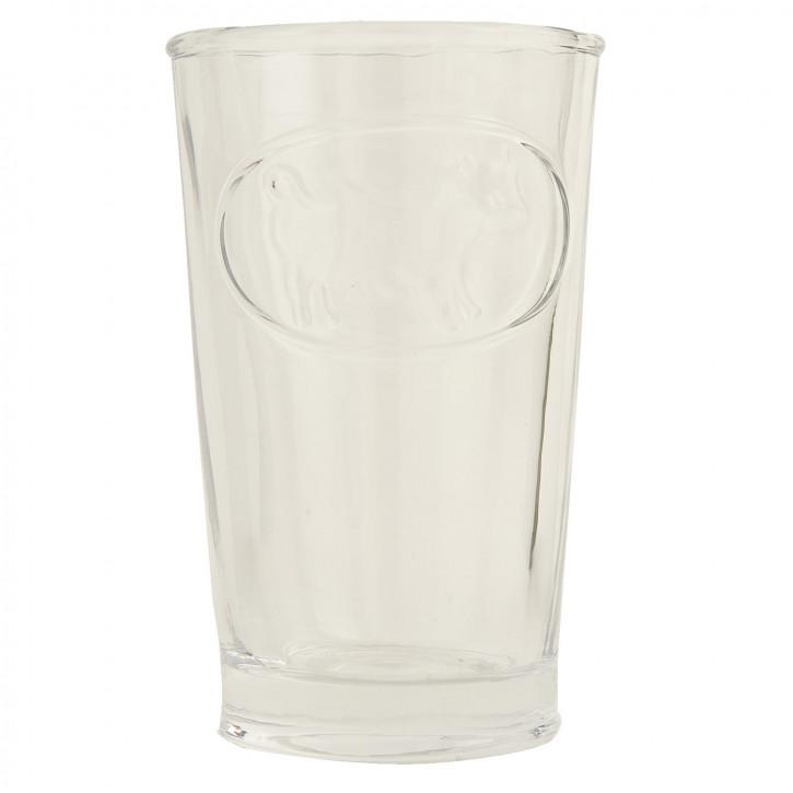 Trinkglas Glas ca. Ø 7 x 12 cm