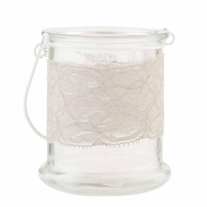 Schönes Teelicht Glas 8*10cm