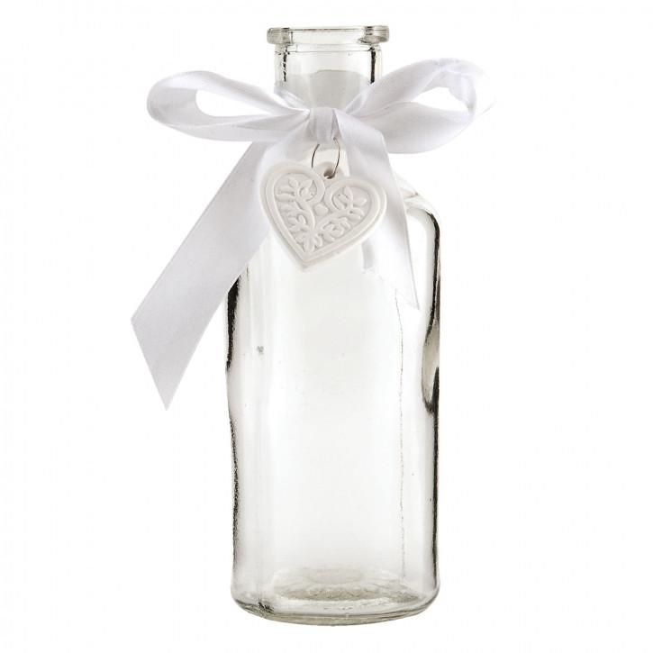 Flasche mit Herzaufhänger Ø6*16cm