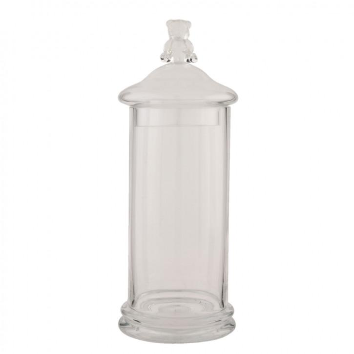 Vorratsglas mit Deckel Bär Bärchen transparent ca. Ø 11 x 31 cm