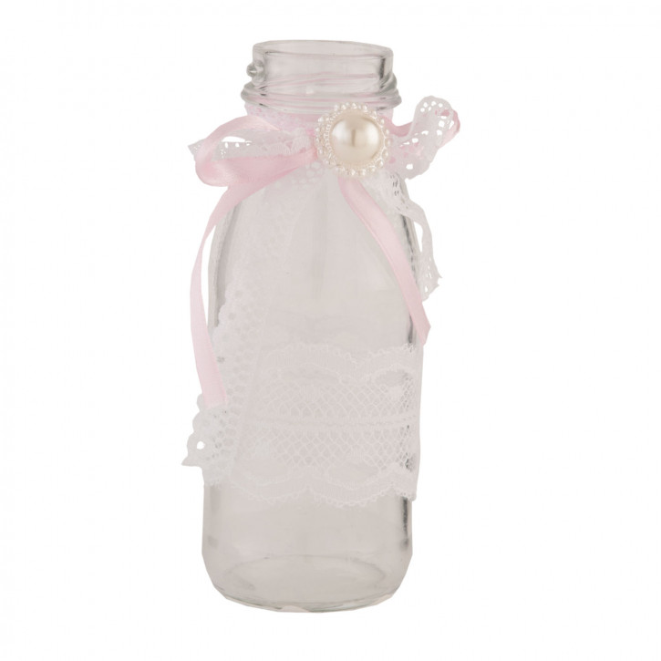 Flasche Glasflasche ca. Ø 6 x 12 cm
