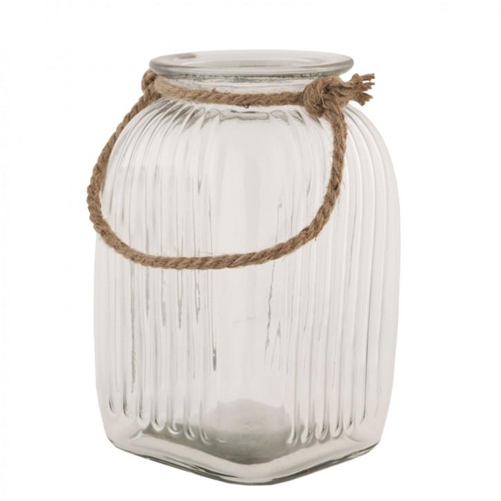 Vorratsglas transparent ca. 16 x 16 x 26 cm
