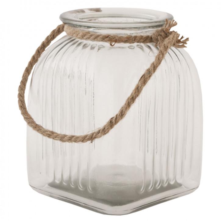 Vorratsglas transparent ca. 16 x 16 x 20 cm