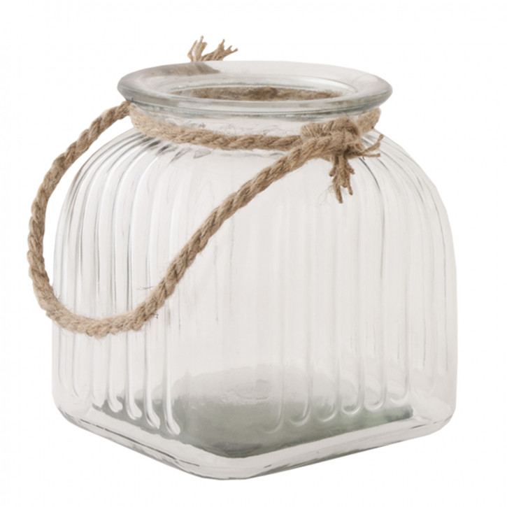 Vorratsglas transparent ca. 16 x 16 x 17 cm