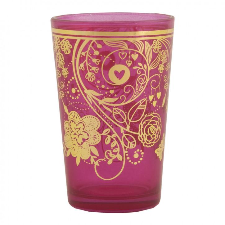 Trinkglas Teeglas Tea ca. Ø 5 x 10 cm