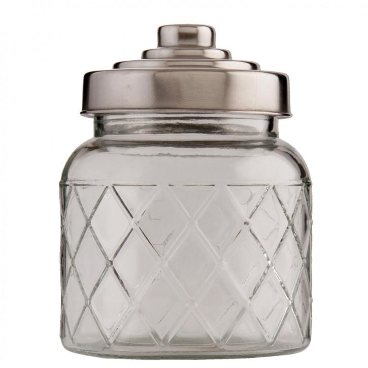 Vorratsglas Ø 10x15 cm / 0,6L