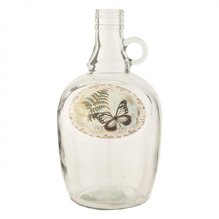 Flasche Glasflasche ca. Ø 12 x 24 cm