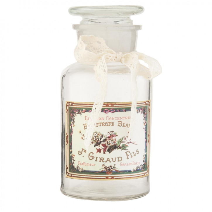 Dekoration Flasche ca. Ø 6 x 14 cm