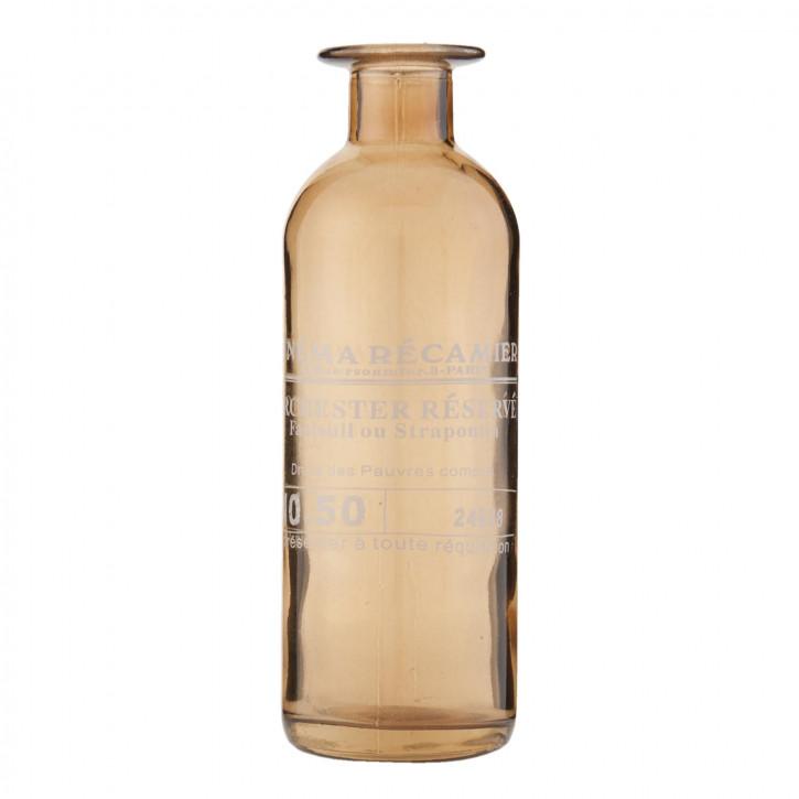 Dekoration Flasche ca. Ø 6 x 16 cm
