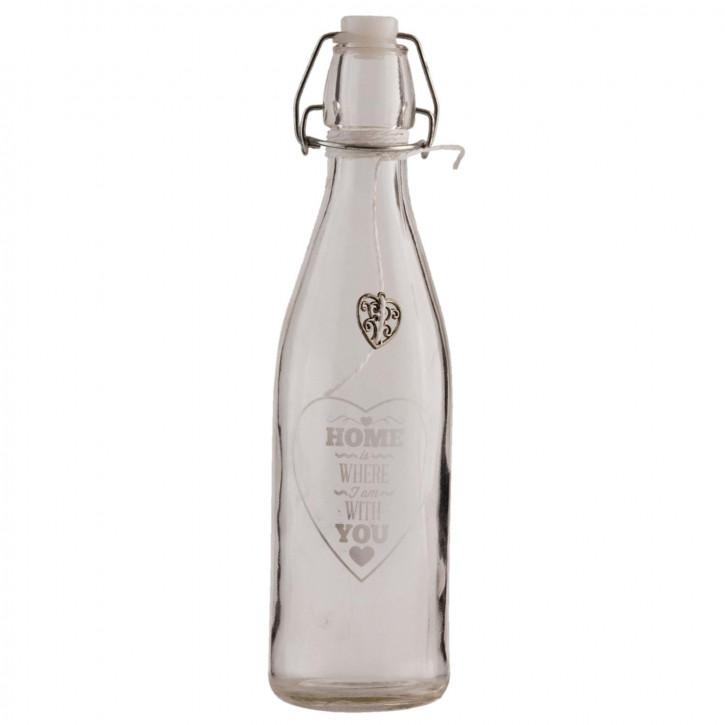 Flasche Ø 7x26 cm