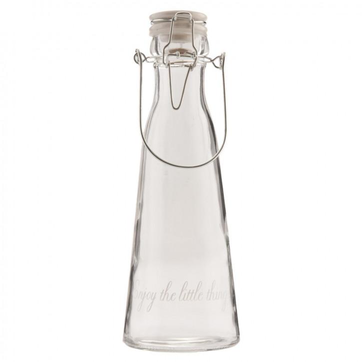 Flasche Ø 8x24 cm