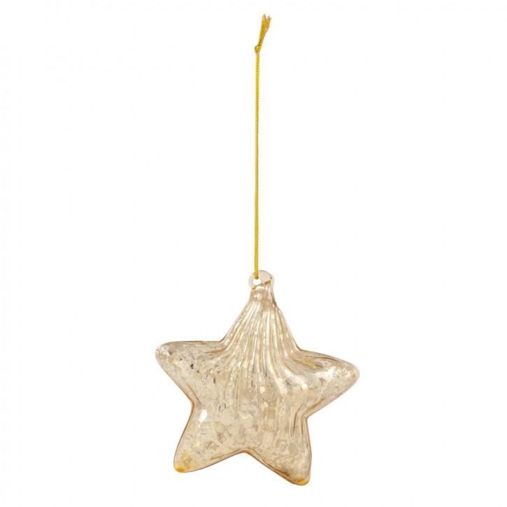 Weihnachtskugel Ø 8x3 cm