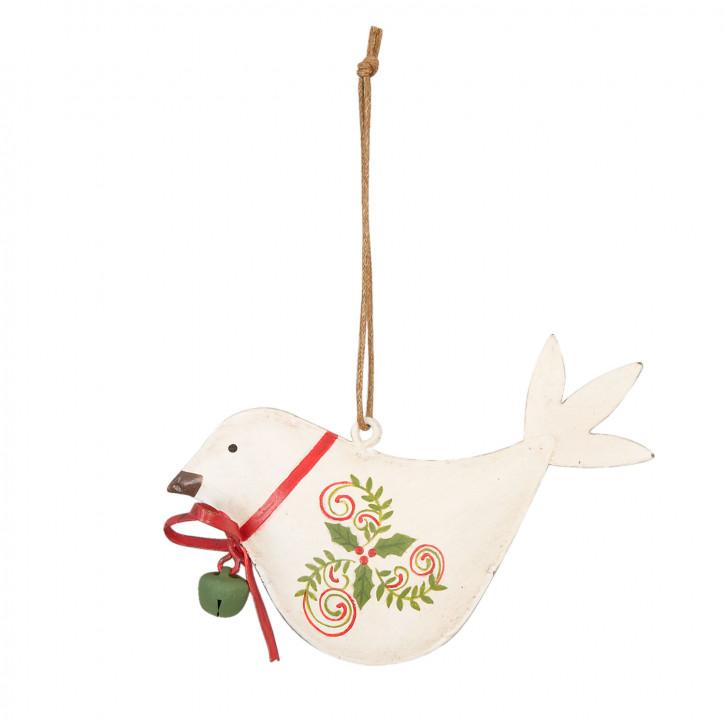 Clayre eef 6h0610s kleiner deko vogel 5 9cm for Kleiner liegestuhl deko