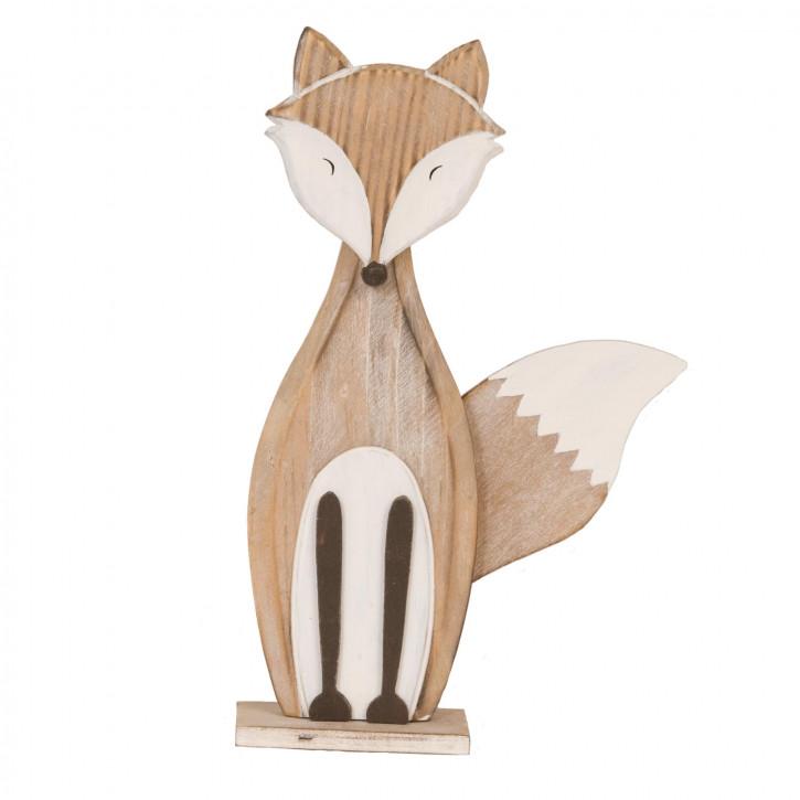 Decoration fox 16x5x25 cm