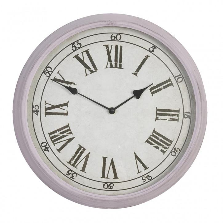 Helle runde Uhr Ø 40 cm