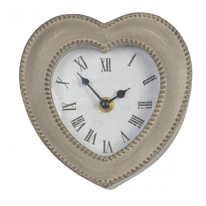 Wunderbare Uhr in Herzform