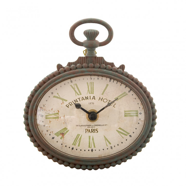 "Uhr ""Printania Hotel"" 13 x 4 x 15 cm"