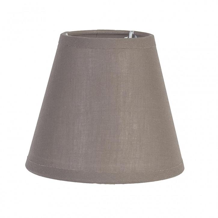 Lampenschirm Braun 8x14x12 cm E27