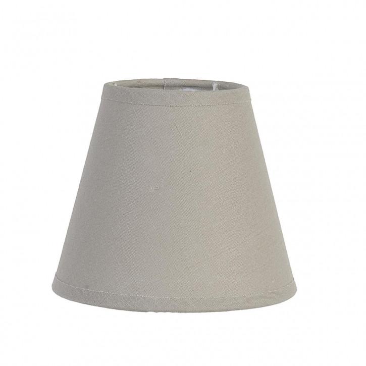 Lampenschirm Grau 8x14x12 cm E27