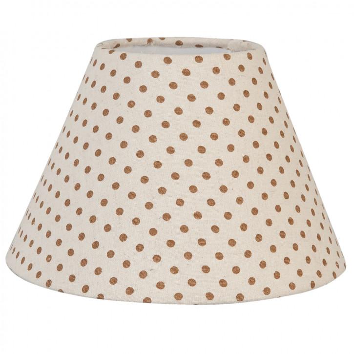 Lampenschirm Natürlich gepunktet ca. Ø 23 x 15 cm