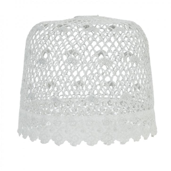 Lampenschirm Hellgrau ca. Ø 24 x 21 cm