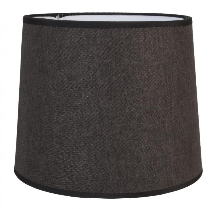 Lampenschirm Schwarz ca. Ø 26 x 21 cm E27