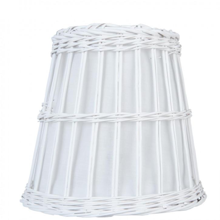 Lampenschirm weiß 37 cm E27
