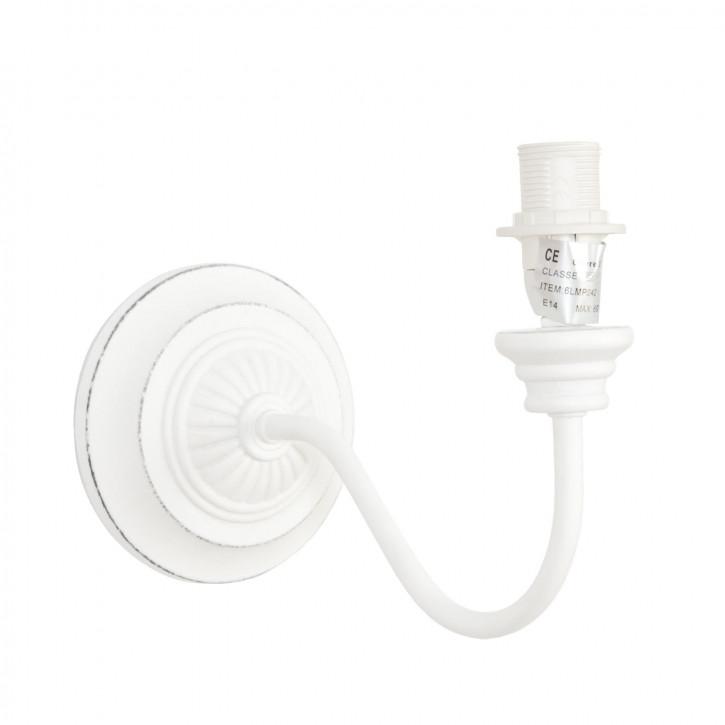 Schöne weiße Wandlampe