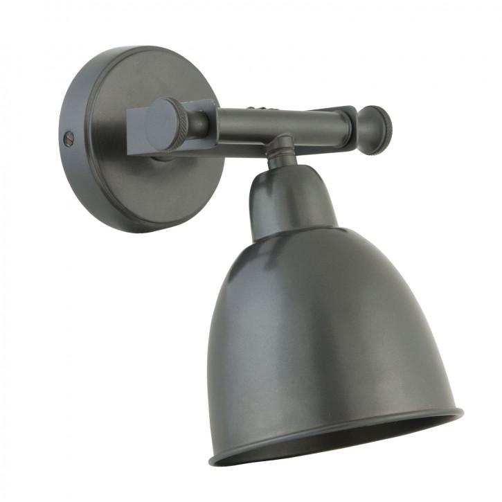 Verstellbare Wandlampe, dunkel