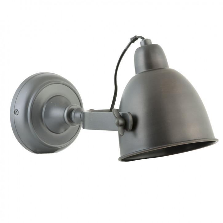 Kleine dunkle Wandlampe