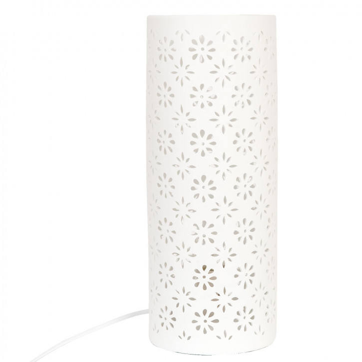 Tischlampe perforierte Säule Ø15