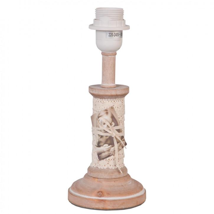 Tischlampe Ø 11x28 cm 1x E27 max 60W