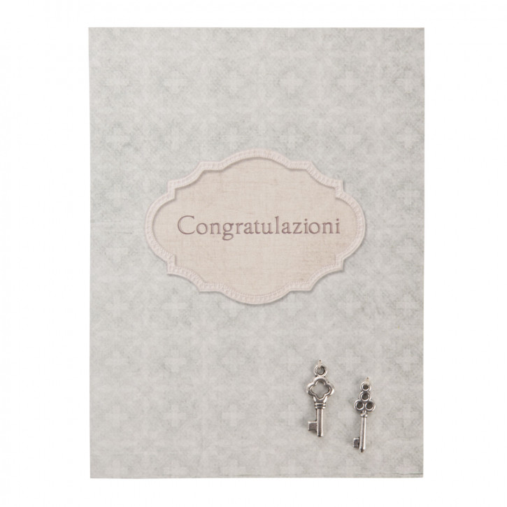 Postkarte (Congratulazioni) 10x13.5 cm