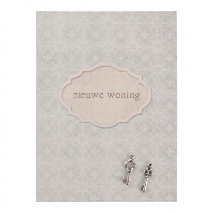 Postkarte (nieuwe woning) 10x13.5 cm