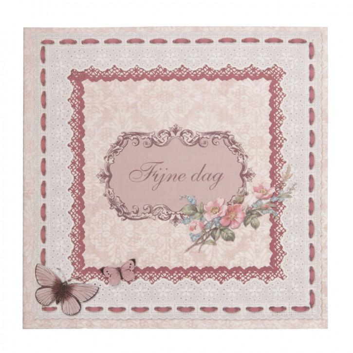 Postkarte (Fijne dag) 13.5x13.5 cm