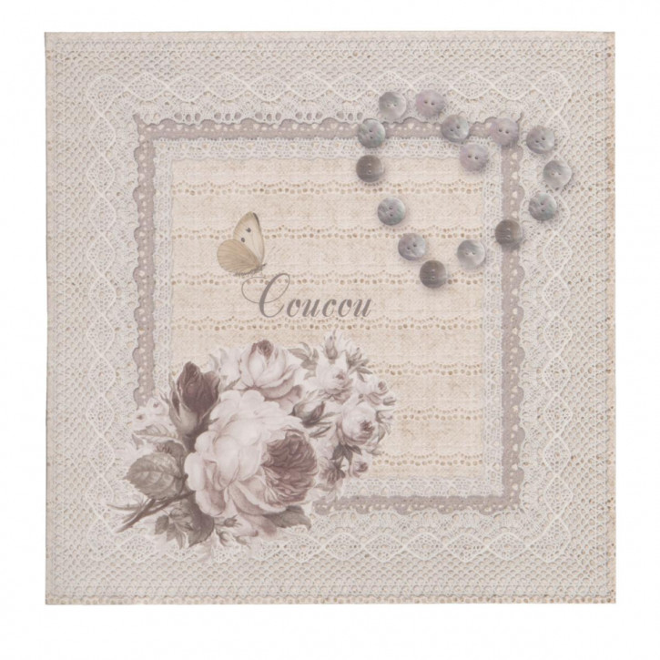 Postkarte (Coucou) 13.5x13.5 cm