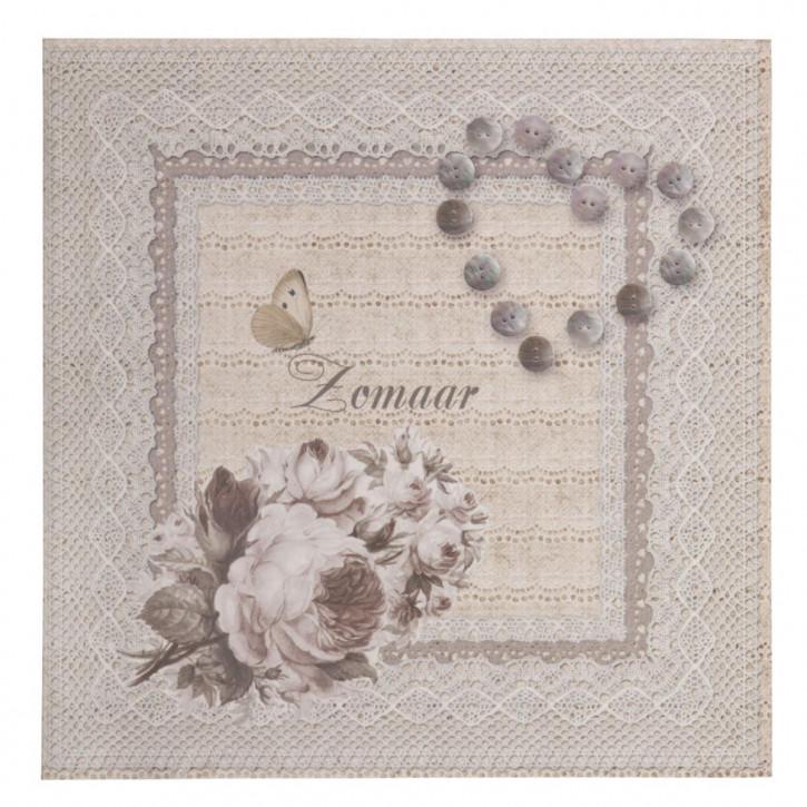 Postkarte (Zomaar) 13.5x13.5 cm